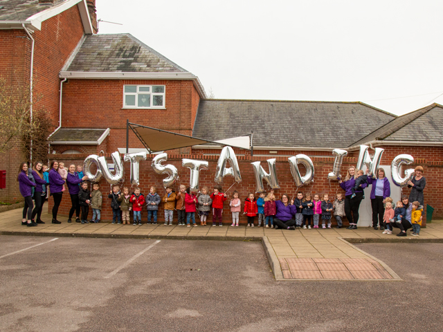 Wroxham Road nursery retains 'Outstanding' Ofsted rating