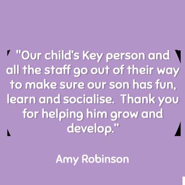 Amy Robinson Testimonial